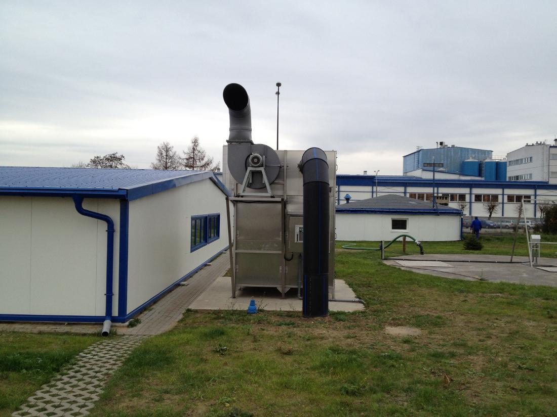 oczyszczalnia ścieków w Bielsku Podlaskim
