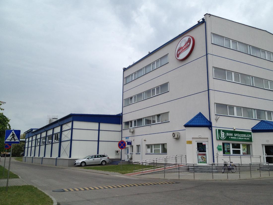 biurowiec oraz hale produkcyjne w Bielsku Podlaskim
