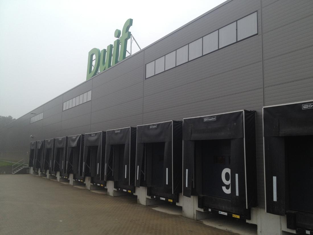 centrum logistyczne DUIF International w Ploskach