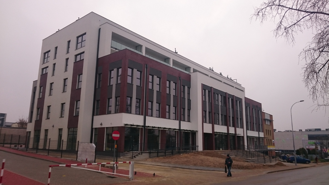 Budynek usługowo-biurowo-mieszkalny w Białymstoku