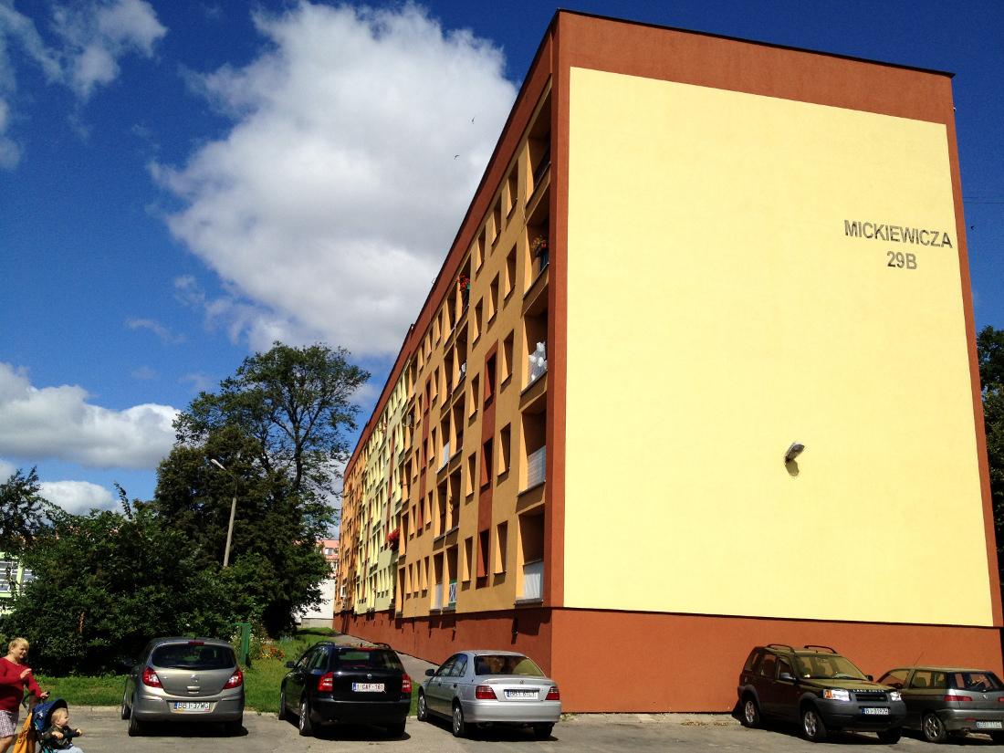 budynek wielorodzinny w Bielsku Podlaskim