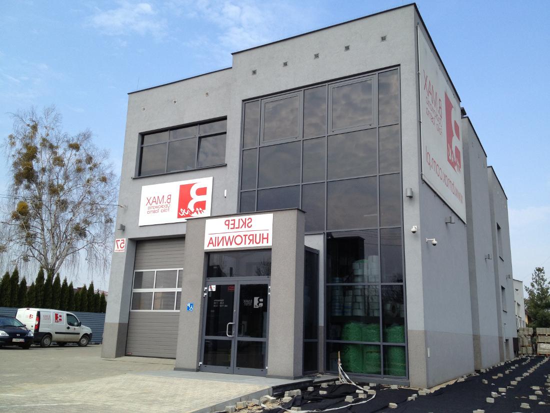 budynek handlowo-usługowy w Białymstoku
