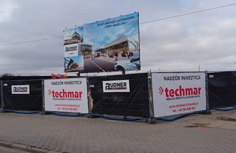 trwają prace budowlane na inwestycji PKS NOVA w Białymstoku