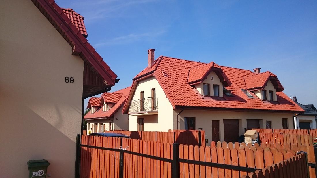 osiedle domów jednorodzinnych w Zawadach
