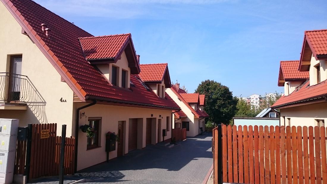 """osiedle domów jednorodzinnych """"Witebska"""""""