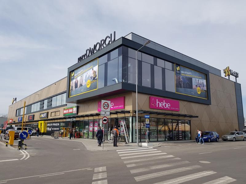 Retail Park 'Park Handlowy przy Dworcu' w Białymstoku