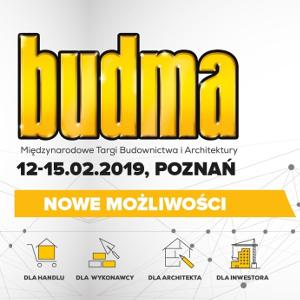 targi budowlane BUDMA2019 w Poznaniu