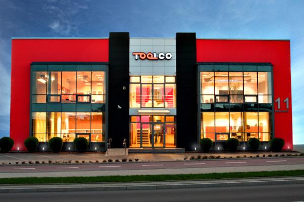 Budynek produkcyjno-magazynowo-biurowy firmy TOOLCO Białystok
